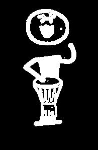 little djembe singer V1 white