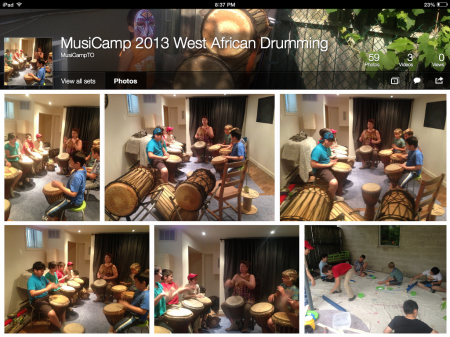 West African Drumming 2013