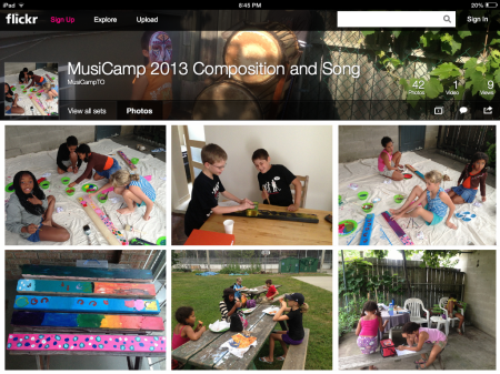 MusiCamp Composition & Song 2013