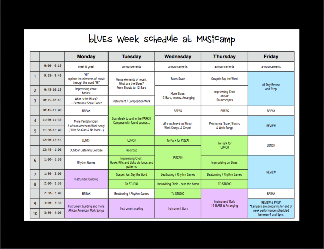 Blues 2014 Sched MusiCamp