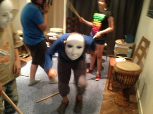 Masks and dance