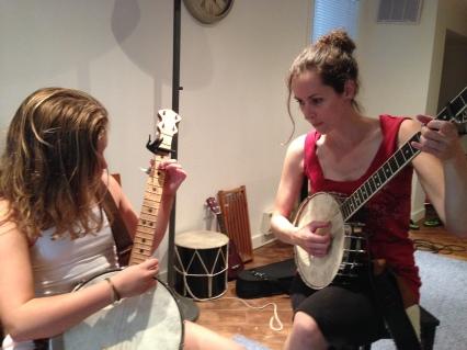 Banjo instruction