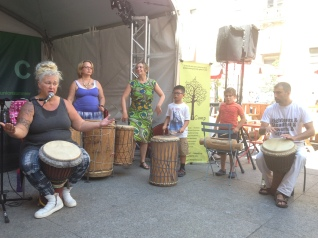 West African Drumming at Union Station